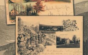 Bystra na pocztówce i fotografii