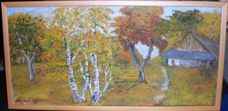 Wystawa obrazów pana Nikla